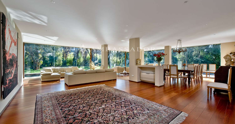 Vista del hermoso salón-comedor de 115 m2