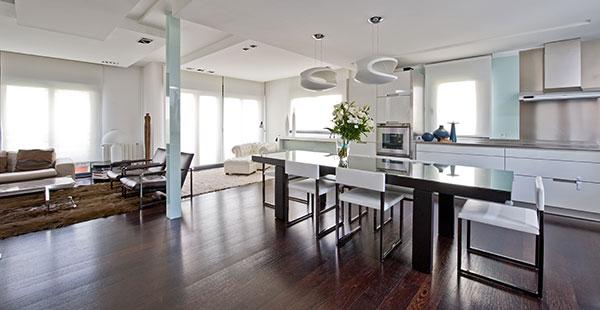 Ambassador agencia inmobiliaria madrid venta de casas for Cocina y salon integrados