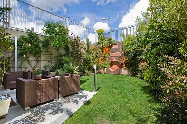 Ambassador agencia inmobiliaria madrid venta de casas - Jardines de chalet ...