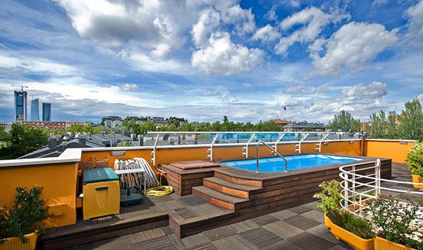 Ambassador agencia inmobiliaria madrid venta de casas - Piscinas para terrazas aticos ...