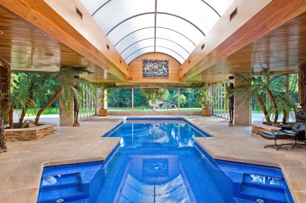 Ambassador agencia inmobiliaria madrid venta de casas - Casas con piscina interior ...