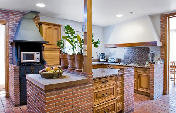 Ambassador agencia inmobiliaria madrid venta de casas pisos y chalets de lujo - Ladrillo visto rustico ...