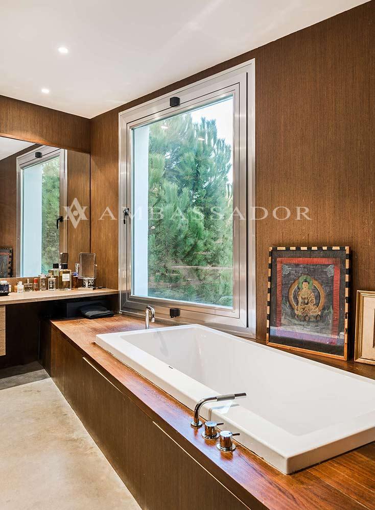 Detalle baño de la suite principal