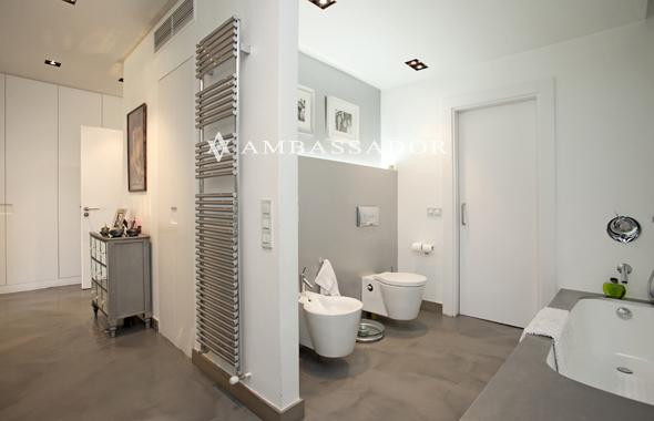 Diseno De Baños Con Walking Closet:espacio y de forma modular alberga la zona de lavabos con la zona de