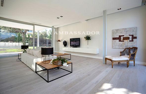 Ambassador real estate - Iluminacion salones modernos ...