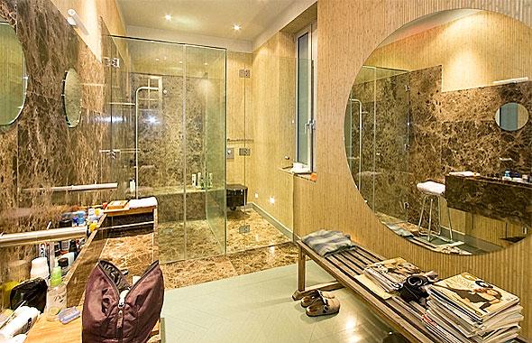 Cabinas De Baño Turco: en cristal templado, la de ducha con baño de vapor de tipo turco