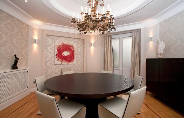 Ambassador real estate - Pasillos decorados con papel ...