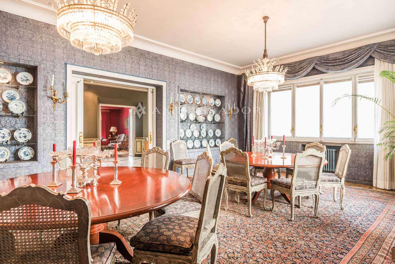 Impresionante salón comedor